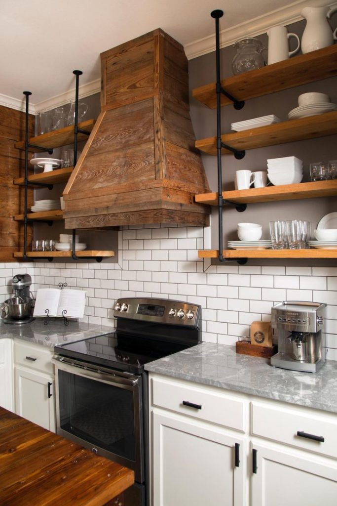 Image of: The Best Farmhouse Kitchen Vent Hood Options My Simpatico Life