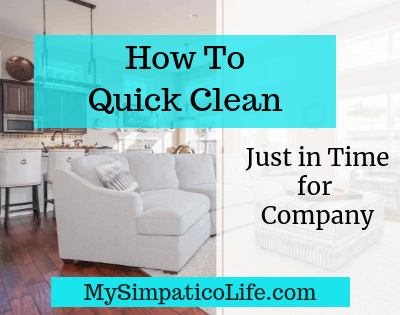 How to Quick Clean Your Home