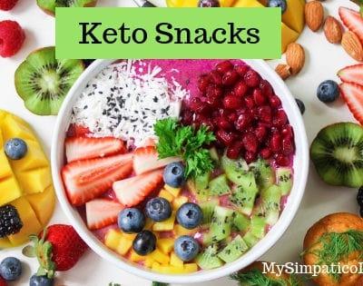 Keto Snacks that Won't Throw you out of Ketosis   MySimpaticoLife.com