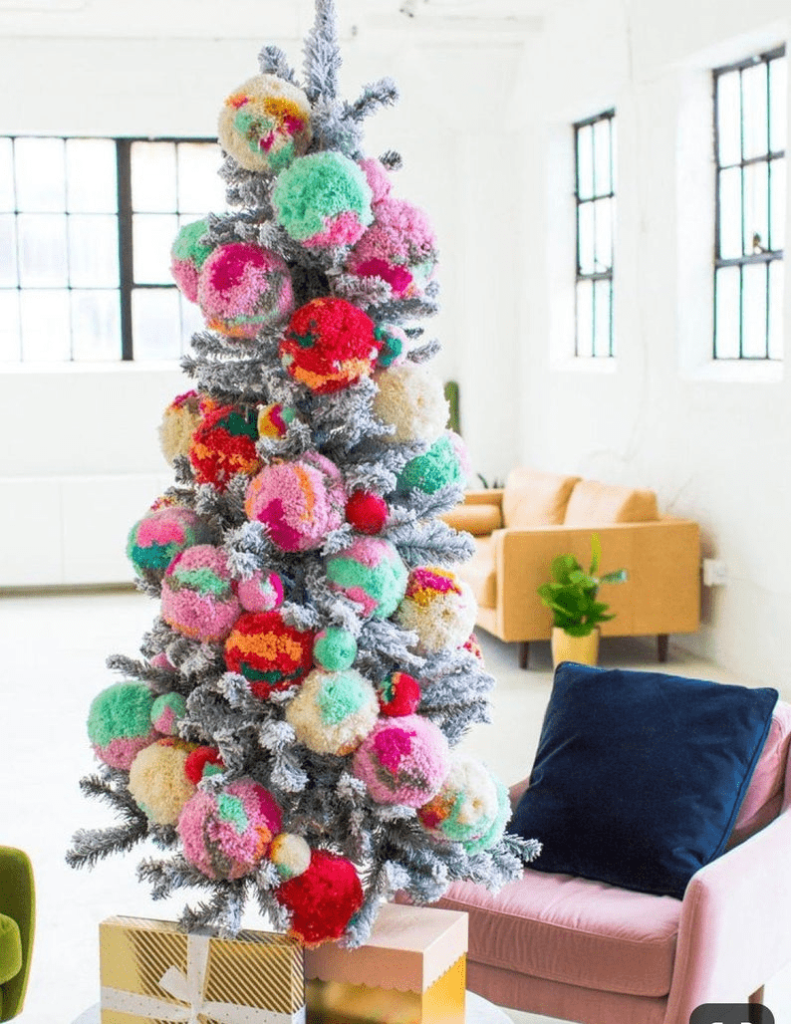 16 Bright And Colorful Christmas Tree Ideas You Can Copy My Simpatico Life